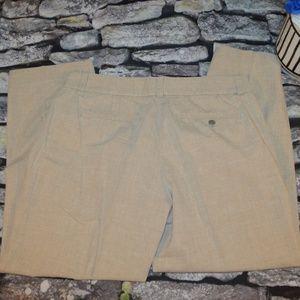 J.Crew Womens Khaki City Fit Capris Pants Size 6
